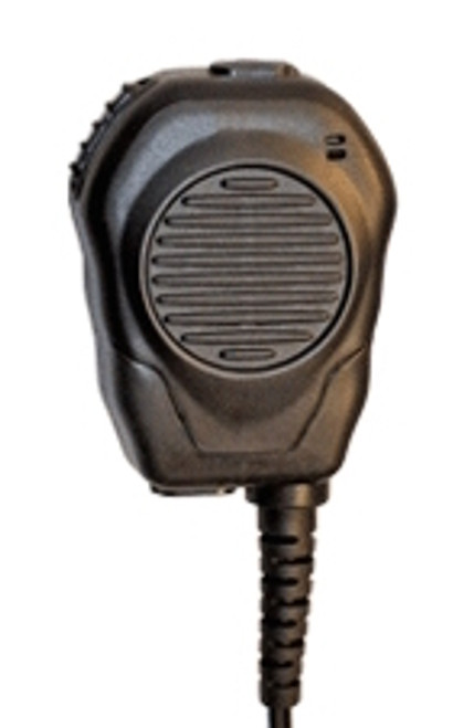 Klein Electronics 2-Way Radio Accessories Shoulder Microphones Valor Speaker Microphone for Radios with Single-Pin or Dual-Pin Connector