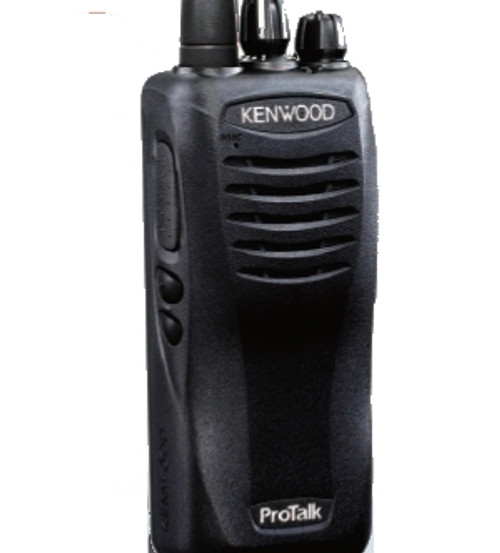 Kenwood TK-2402 two way radio offers 16 channels, 5 watts of power, and a lithium battery and great OUTDOOR coverage.