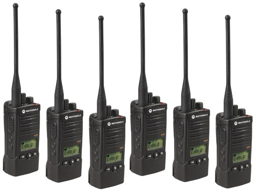 Weighing just 8.6 ounces, the RDU 4160d by Motorola is comfortable to wear all day. Plus, the user interface makes the radio simple and easy to use with little or no training. Get a Six Pack today!