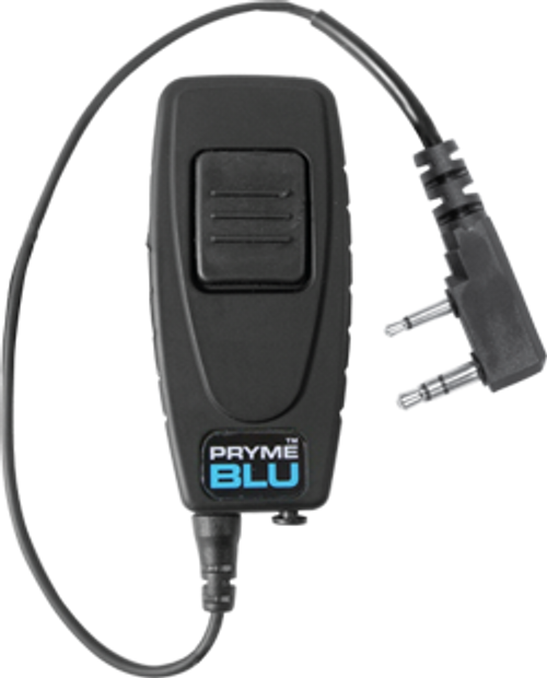 PRYMEBLU BT-501 - Bluetooth Adapter: Allows you to use a Bluetooth headset with your Kenwood compatible portable two-way radio. Free Shipping.