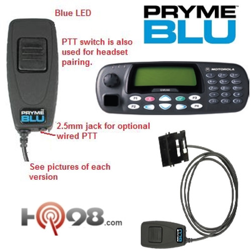 Get The Bt Mobile From Pryme Radio This Bluetooth Adapter For Mobile Two Way Radios Replaces The Speaker Mic