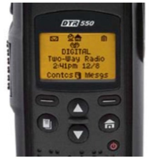 Motorola DTR 550 digital on-site two-way radios are the power tools that enable that communication. Unlike alternative technologies, there are no monthly fees, no service towers, no per-minute charges.