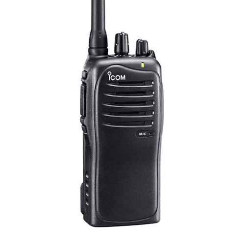 The Icom F4011 business two way radio is a heavy duty 4 watt 400-470 MHz UHF radio designed for daily use while being very durable.