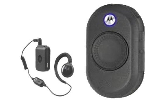 CLP1060 6-Channel On-Site 2-Way Business Radio from Motorola is a sleek and simple 2-way communications radio designed for retail and hospitality applications. The radio operates on 6 channels and has an embedded antenna. Includes wireless earpiece.