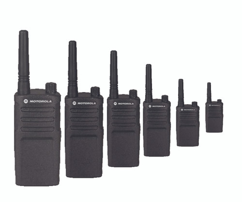Motorola RMV2080 Two Way 8CH VHF Radio Six Pack