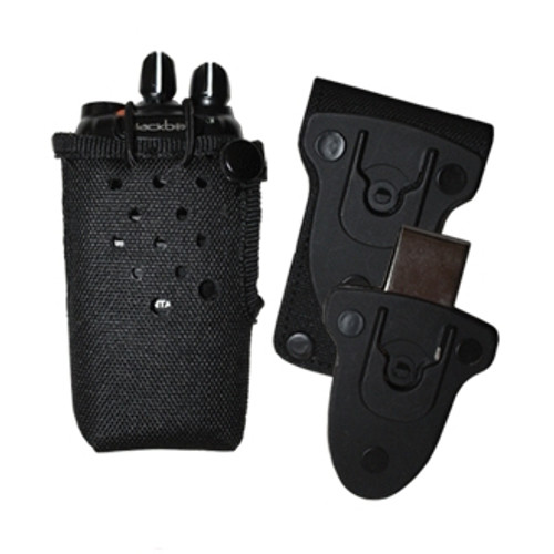 Nylon case for Bantam radios, Offers a layer of protection for your radio, perfect for those in construction, detachable belt clip.