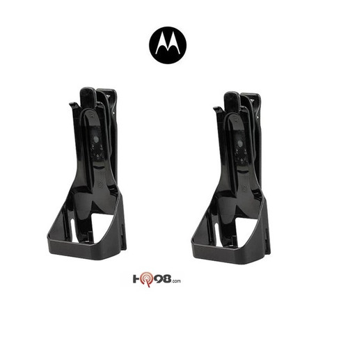 Replacement PAIR for the durable holster that comes standard with each RM Series radio purchased. Motorola HKLN4510A