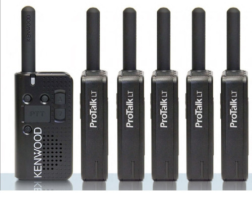 Kenwood protalk pkt23a uhf 4ch six pack of radios with free shipping.