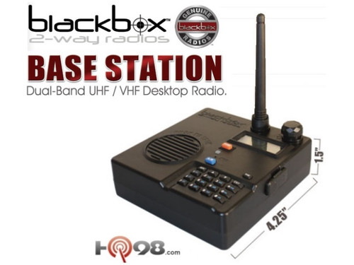 Great for Professional use! Use the Blackbox Radios anywhere, like the track, camping, boating, Surveillance, Casinos, Law Enforcement, Restaurants, Nightclubs, Hotels, Retail Store, Racing, Tactical units / teams, Security & Guards.