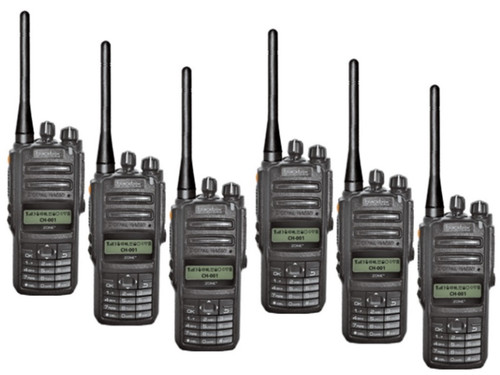 Great for Professional use! Use the Blackbox Zone KP Radios anywhere,  Surveillance, Casinos, Law Enforcement, Restaurants, Construction, Warehouse, Retail Store, Tactical units / teams.