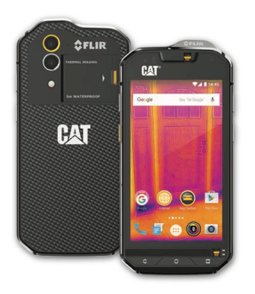 The CAT S60 Smartphone. Achieve more with the world's first thermal imaging smartphone.