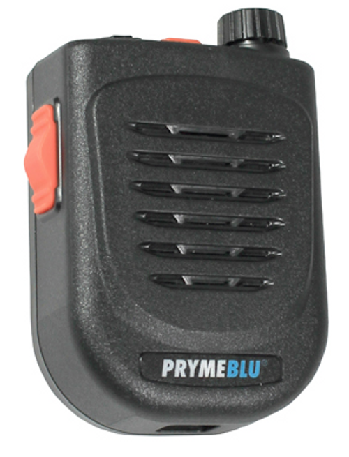 The PrymeBlu BTH 500-ZU pairs to your Apple or Andriod phone using the free Zello app.