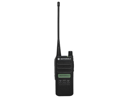 The affordable CP100d radios offer all the benefits of digital technology – up to 35% longer talk-time, twice the voice capacity in a 12.5 kHz licensed channel, wider radio coverage and superior audio.