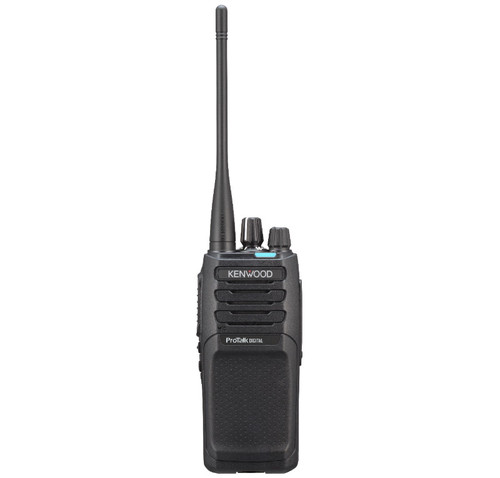Kenwood NX-P1200AVK two way radio offers 64 channels, 5 watts of power, and a lithium battery and great OUTDOOR coverage.