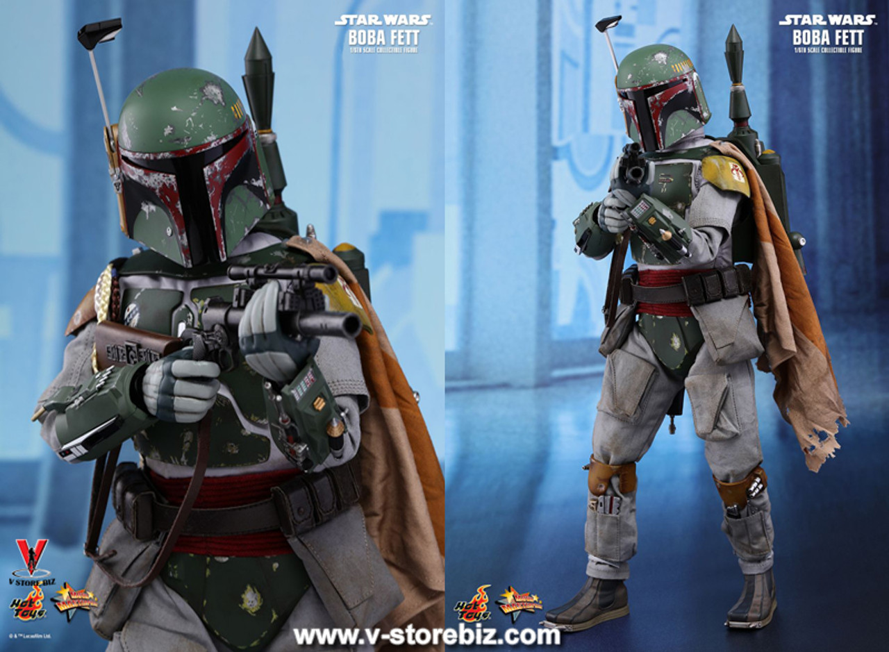 Hot Toys Star Wars Animated Boba Fett Yellow Knee Pads loose 1//6th scale