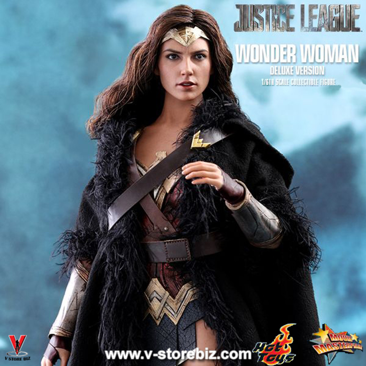 1//6 Scale Hot Toys MMS451 Justice League Wonder Woman engraved sword