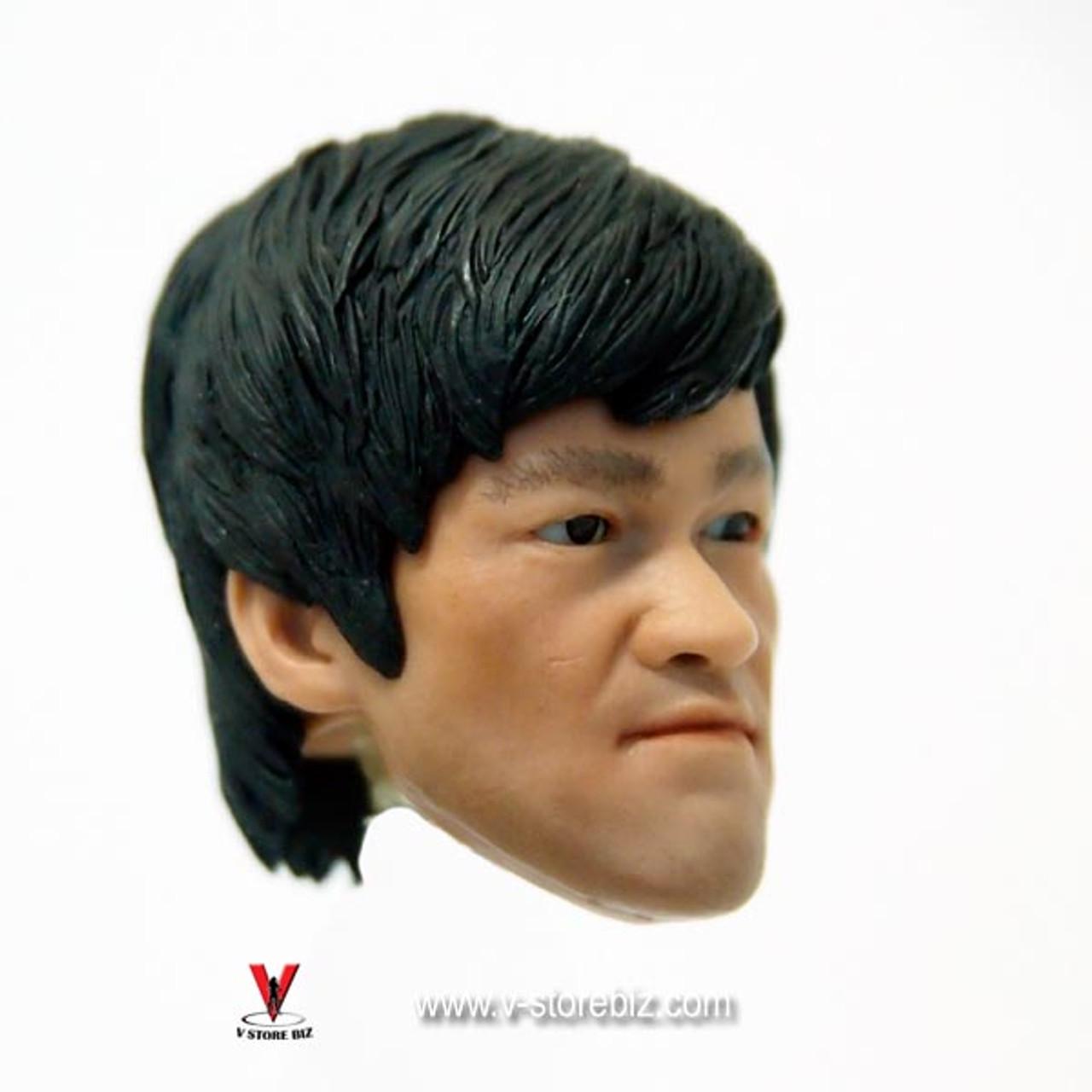 "303TOYS 1//6 Scale Bruce Lee Head Sculpt for 12/"" Action Figure"