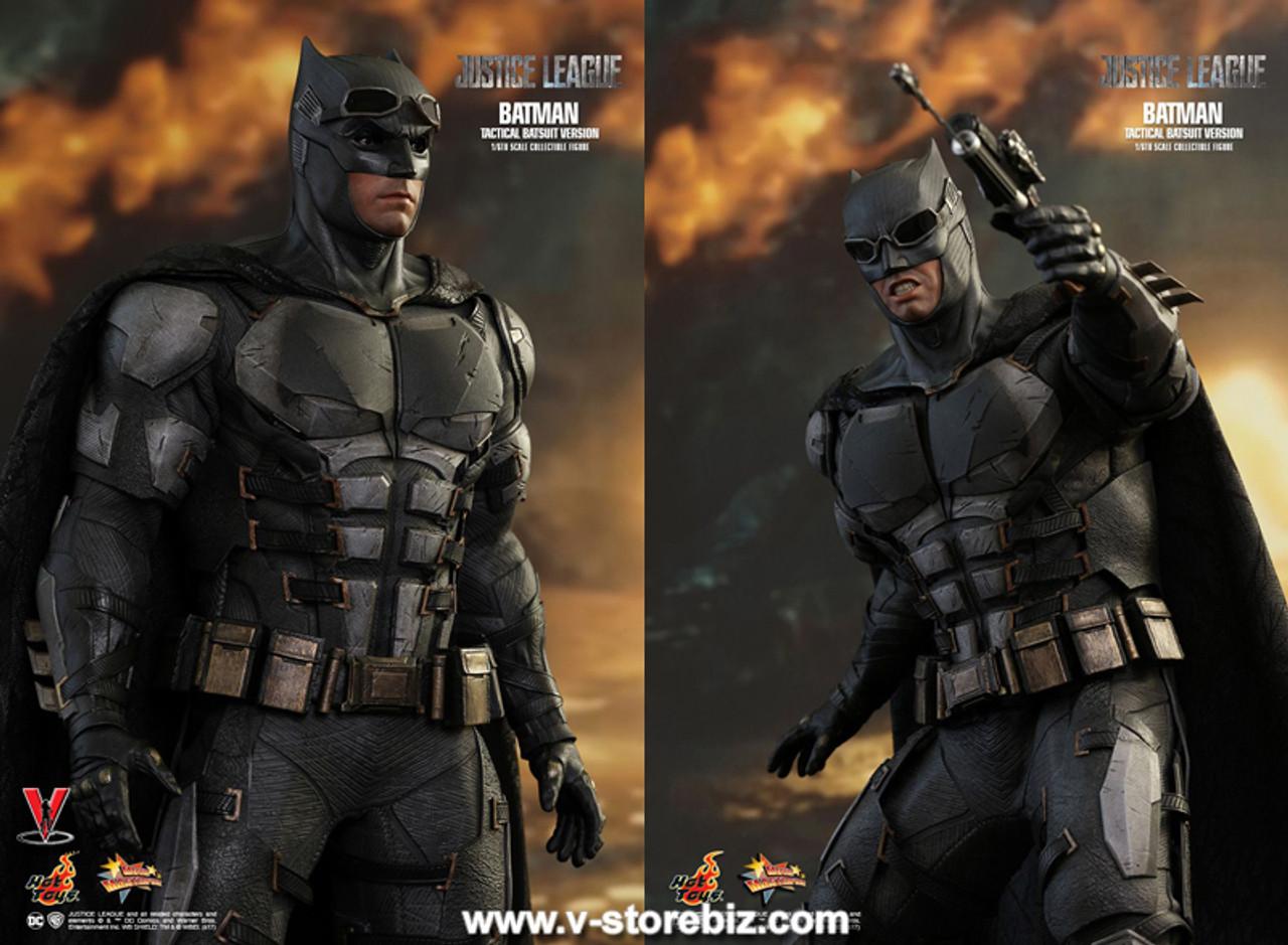 Hot Toys Justice League Tactical Batman MMS432 Black Cape loose 1//6th scale
