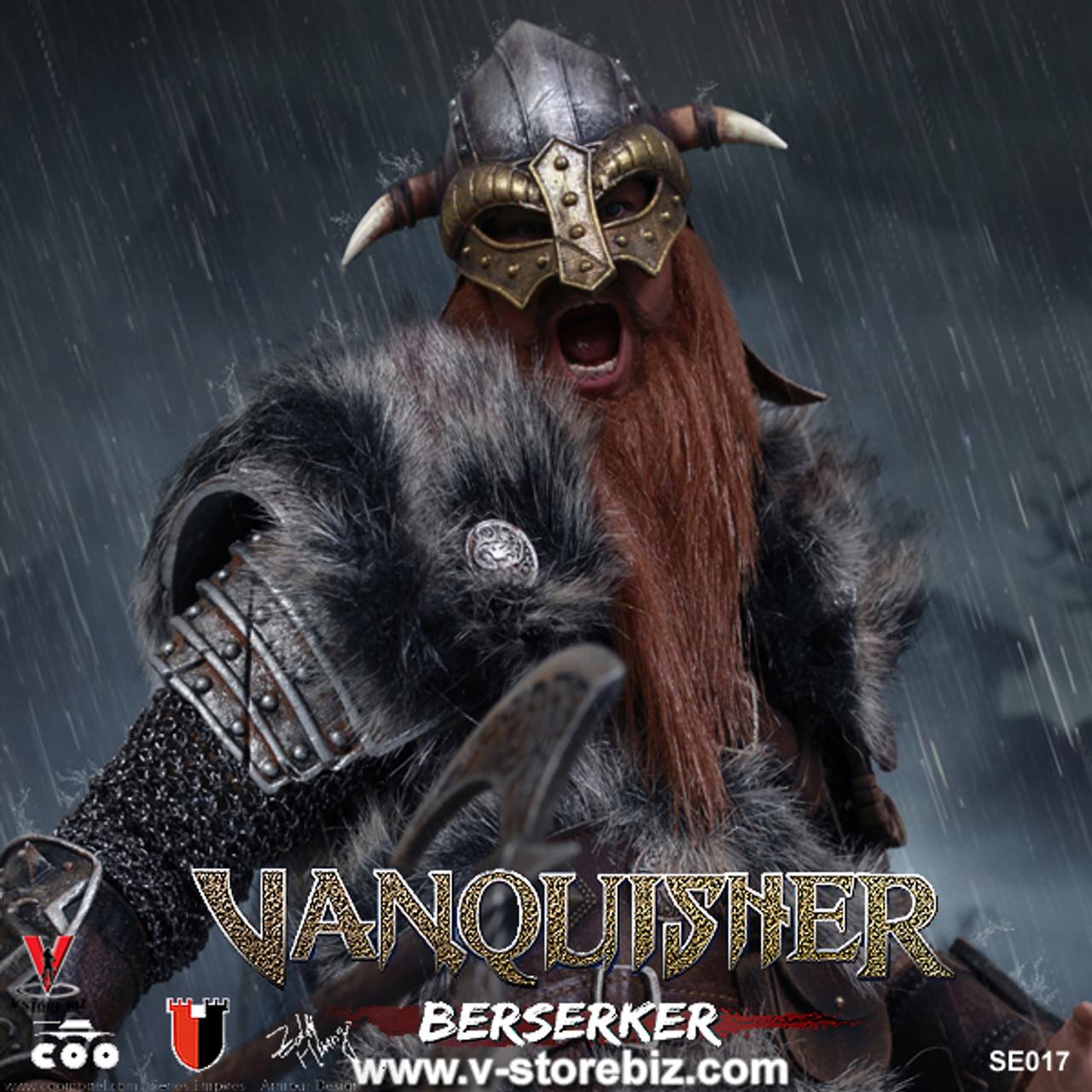 1//6 COOMODEL NO.SE017 VIKING VANQUISHER Die-cast Alloy BERSERKER Bull Helmet