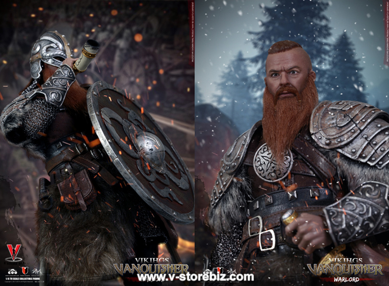 "COOMODEL NO.SE018 1//6 VIKING VANQUISHER Die-cast Alloy WARL LORD 12/"" Figure Head"