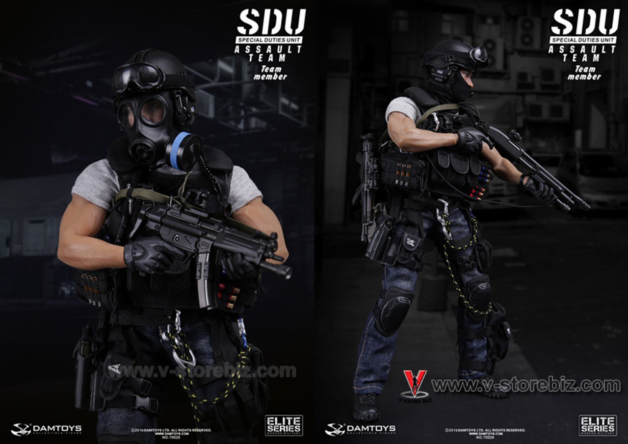 SOLDIER STORY Vest /& Pouches SDU ASSAULT LEADER 1//6 ACTION FIGURE TOYS did dam
