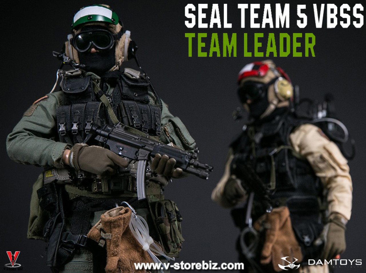 VBSS Team Leader Damtoys Action Figures Leg Pouch /& 3 MP5 Mags 1//6 Scale