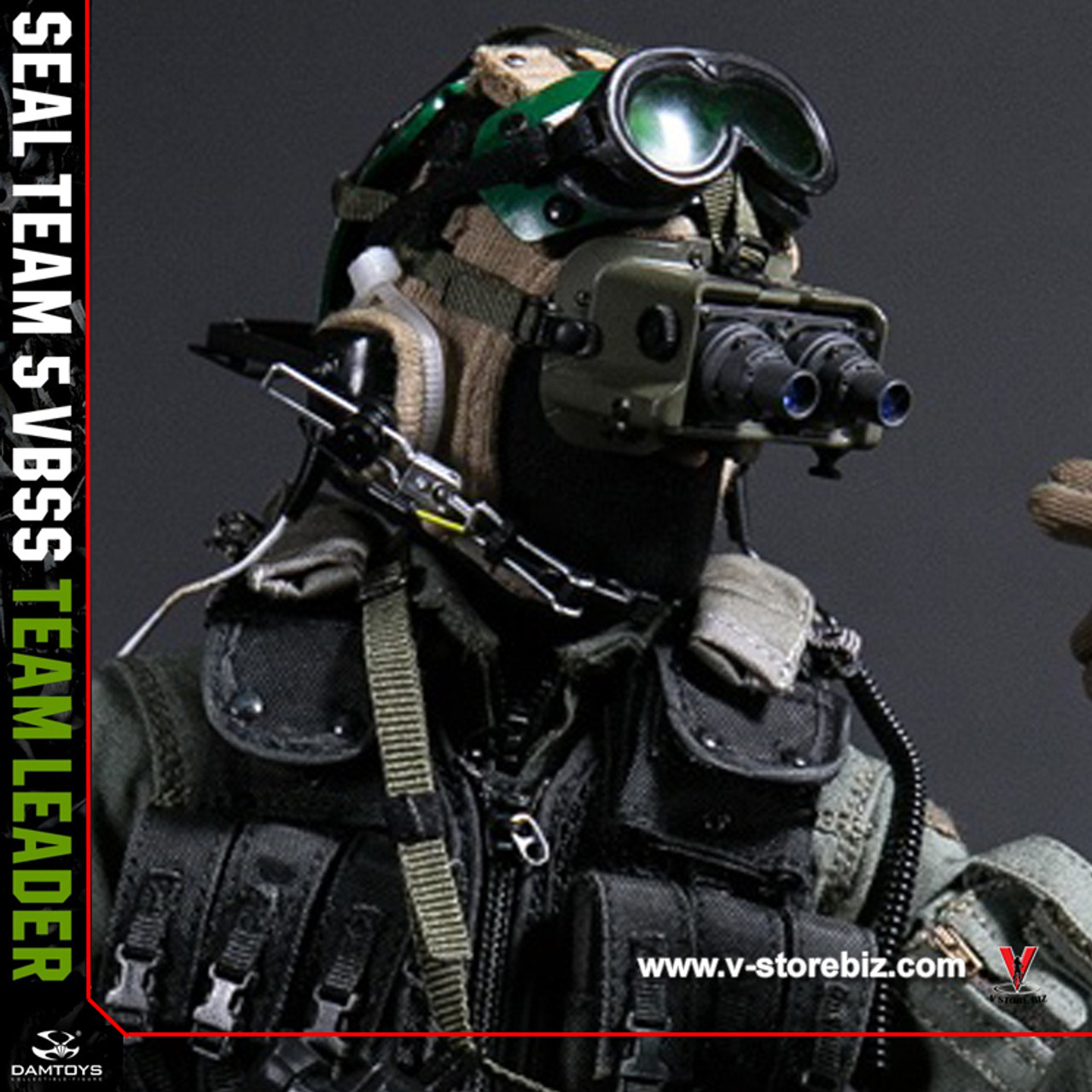 Box Set IN STOCK 1//6 Scale DAMTOYS 78046 SEAL TEAM 5 VBSS COMMANDER