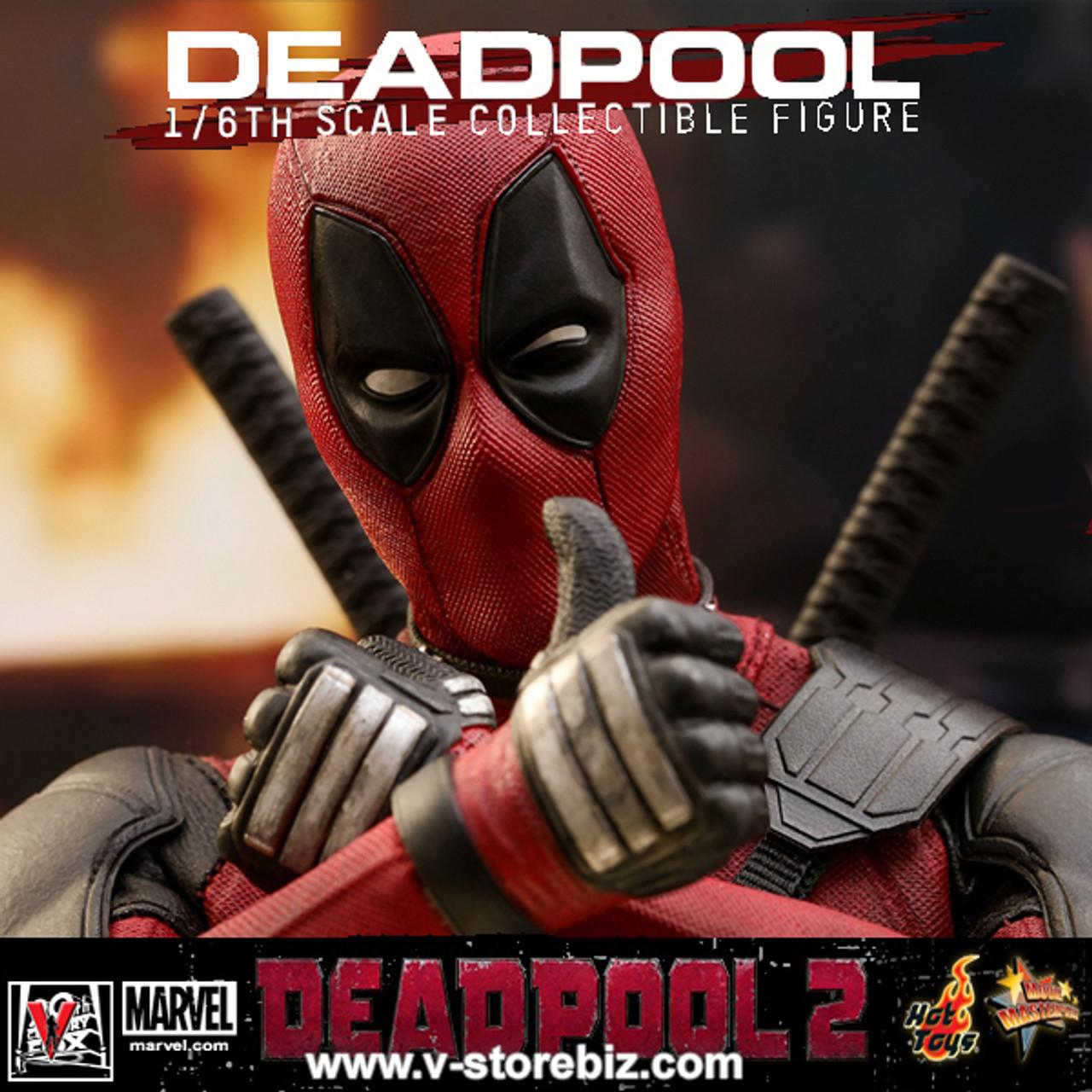 Hot toys MMS490 Xmen Marvel Deadpool 2 1//6 Back Sheath /& Sword