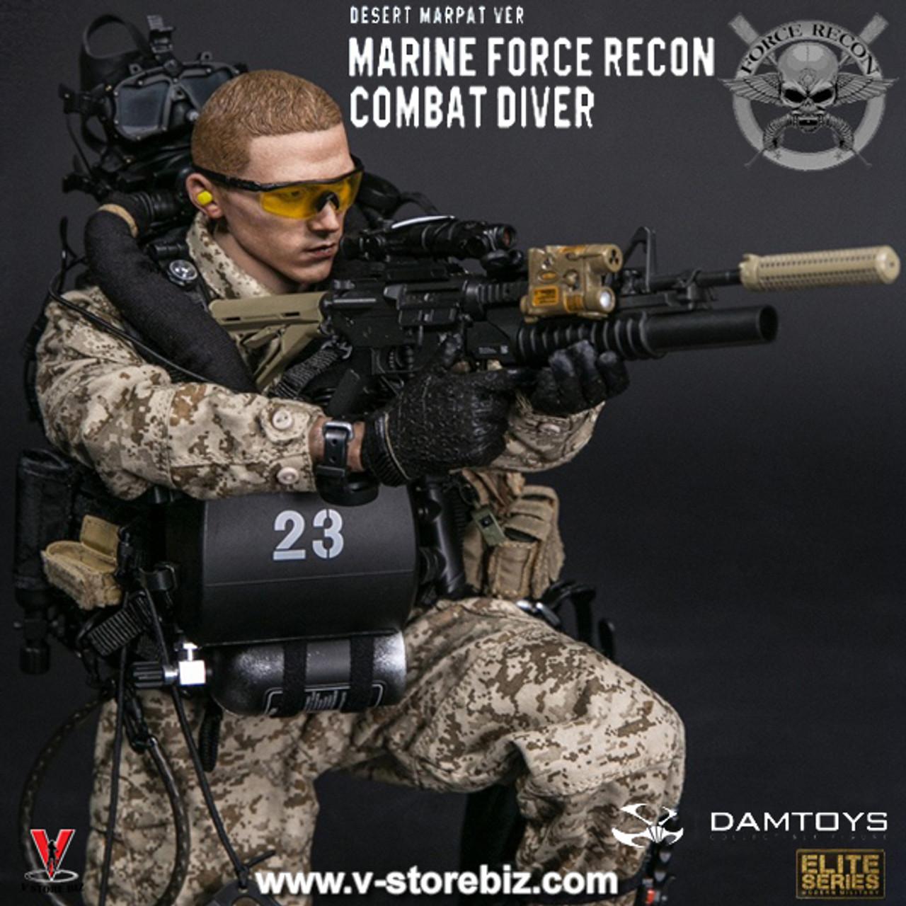 Sight for DAM 78056 Marine Force Recon Combat Diver Desert Marpat 1//6 Scale 12/'/'