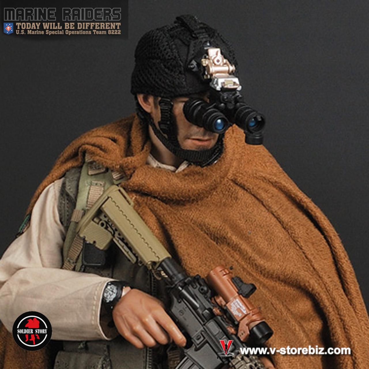 1//6 scale Soldier Story US Marine Raiders MSOT 8222 Camo BTU Uniform Shirt