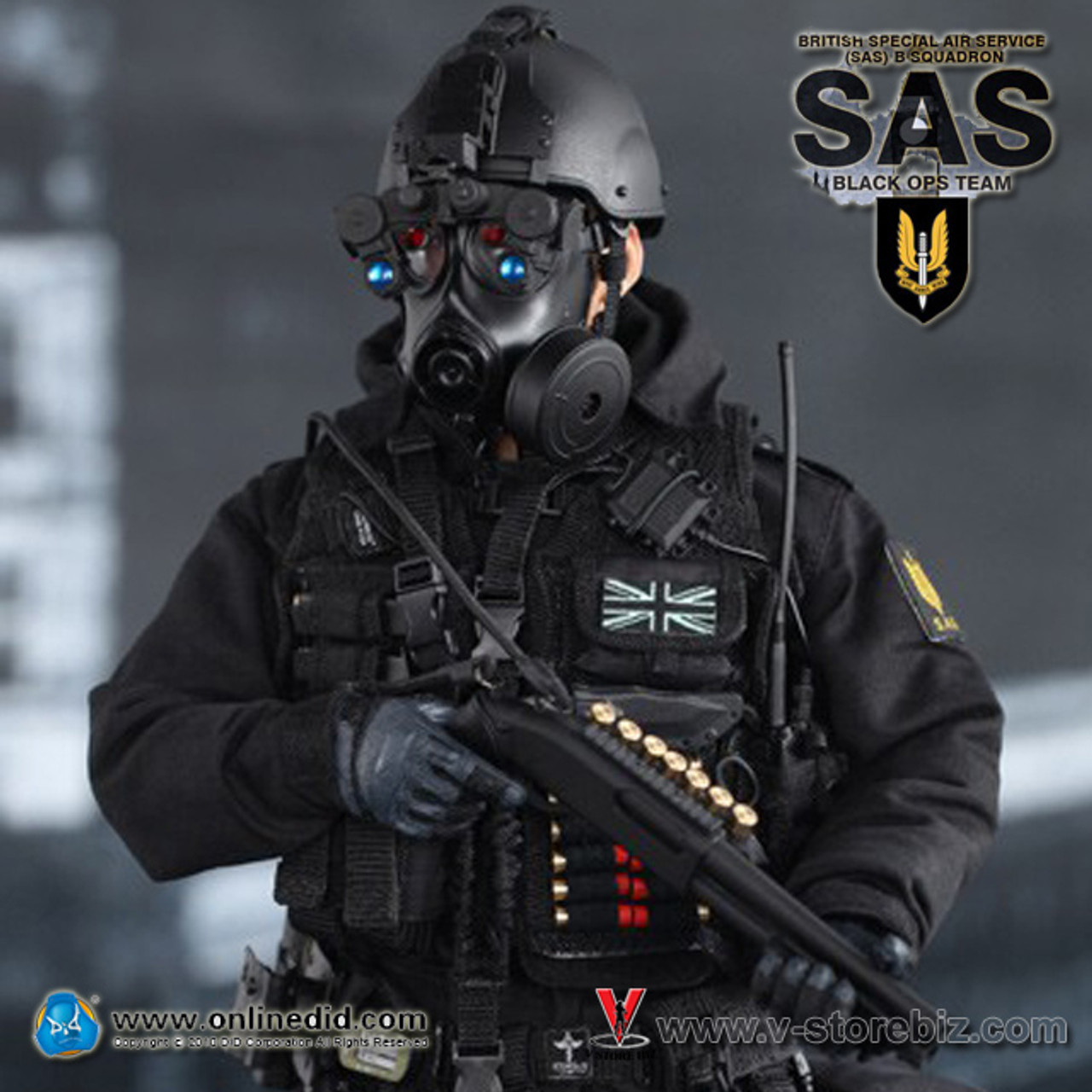 Black Special Ops Tactical Gloves SAS SWAT Army Airsoft