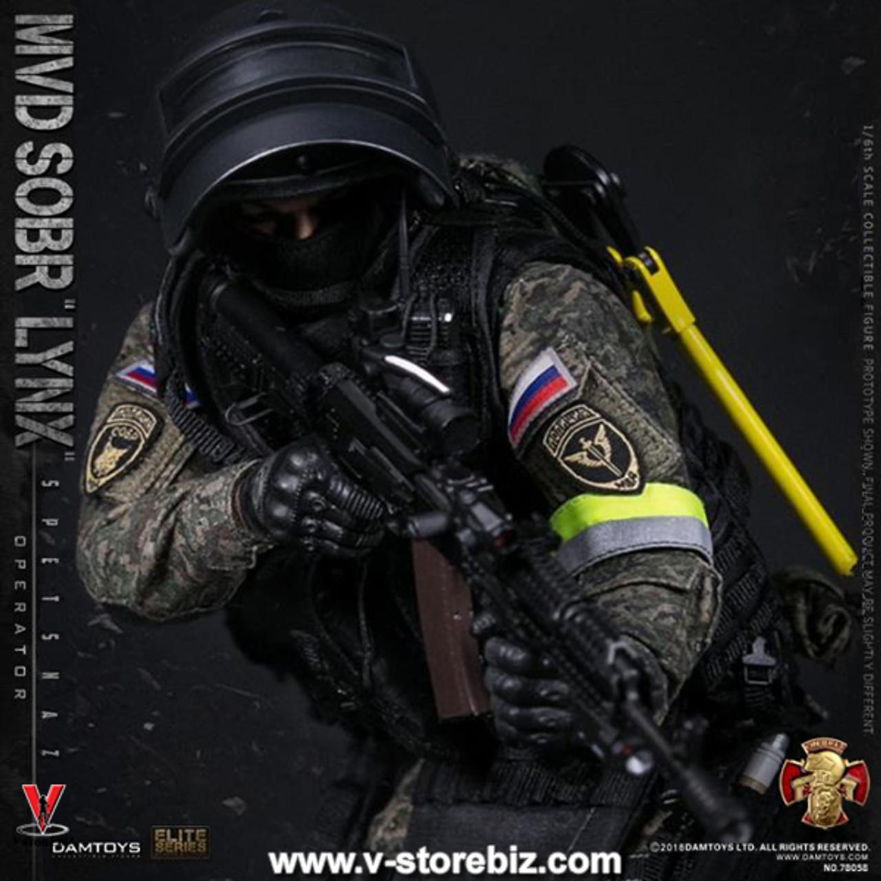 Yargin PYA Pistol 1//6 scale toy Russian Spetsnaz SOBR