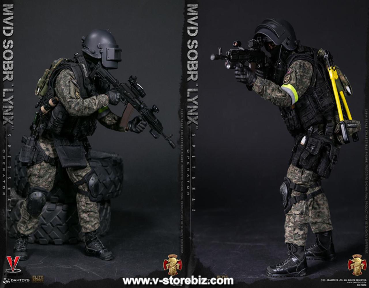 Grip for DAM 78059 RUSSIAN SPETSNAZ MVD 2.0 1//6 Scale Action Figure