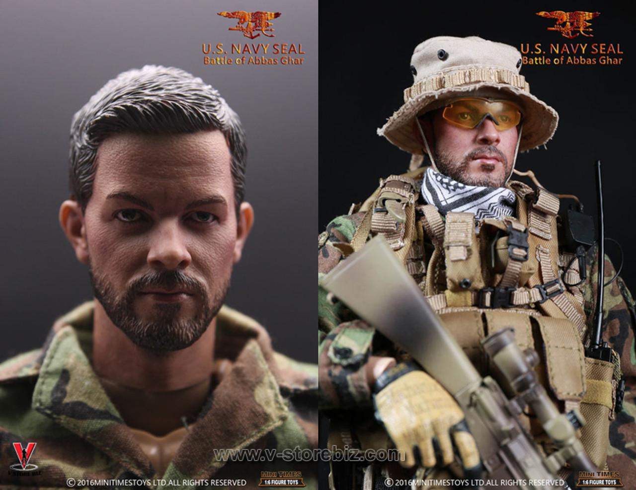 Mini times US Navy seal battle of Abbas Ghar radio 1//6 toys Joe did dragon dam