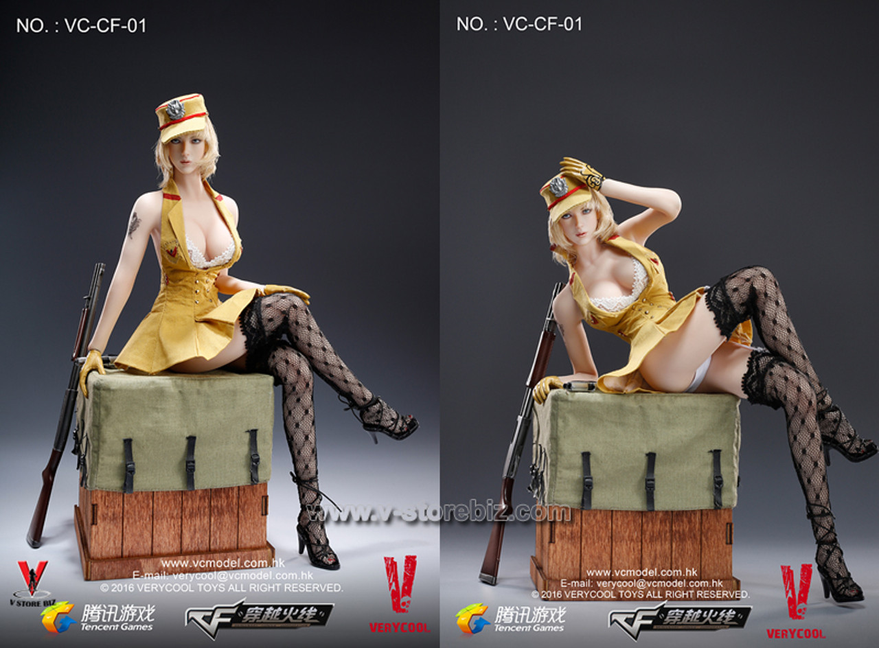 Little Girl Head Sculpt Figure Model 1//6 Verycool Lurker of Fox Legend  VC-CF-01