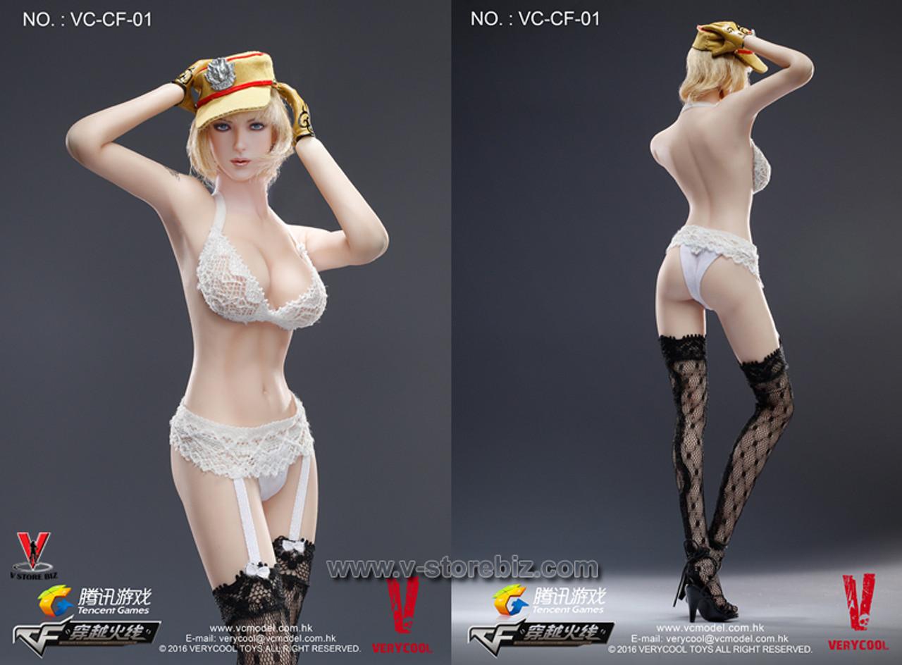 VERYCOOL 1//6 CrossFire Defender of Fox Legend Female Seamless Figure Full Set