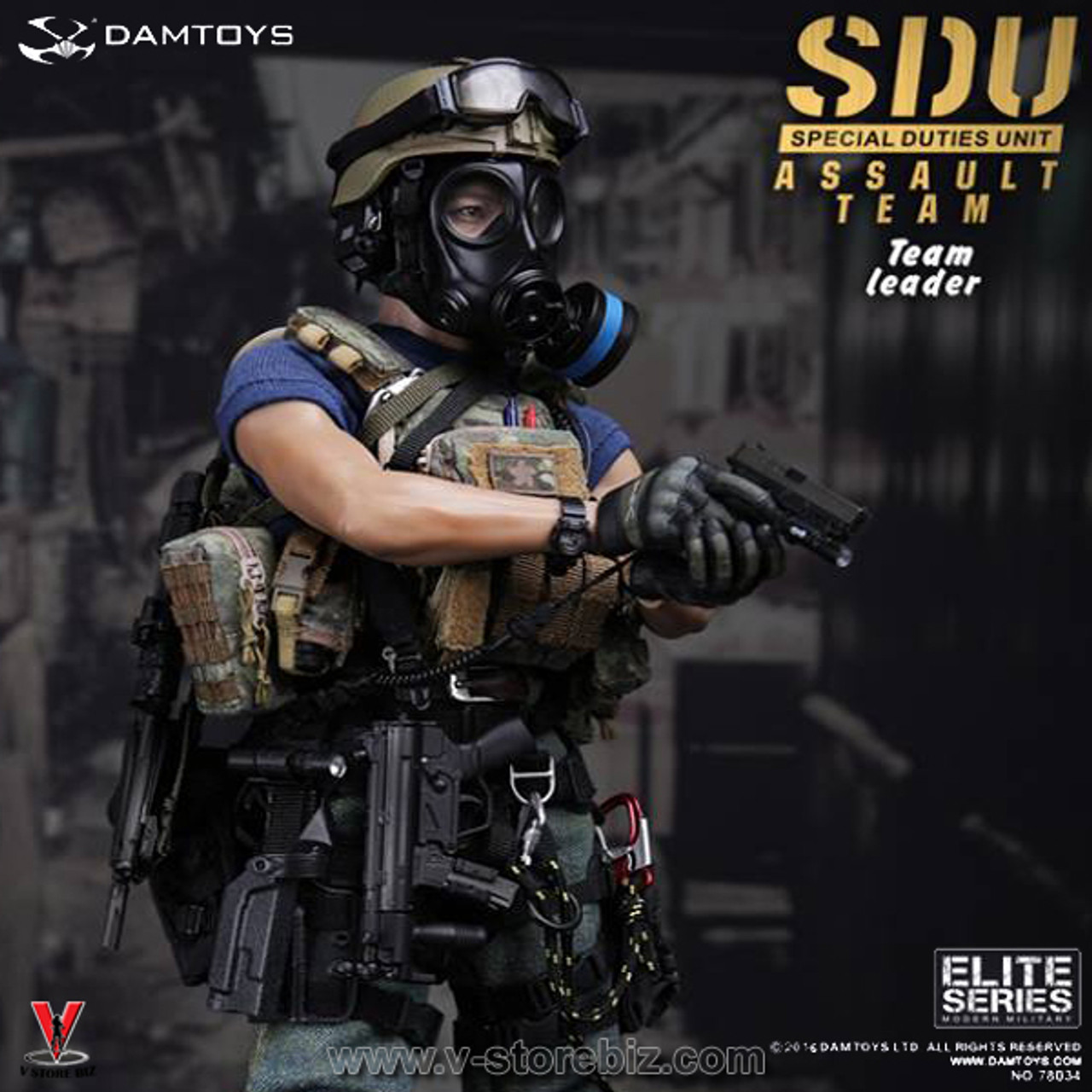 SOLDIER STORY Radio /& Headset SDU ASSAULT LEADER 1//6 ACTION FIGURE TOYS did dam