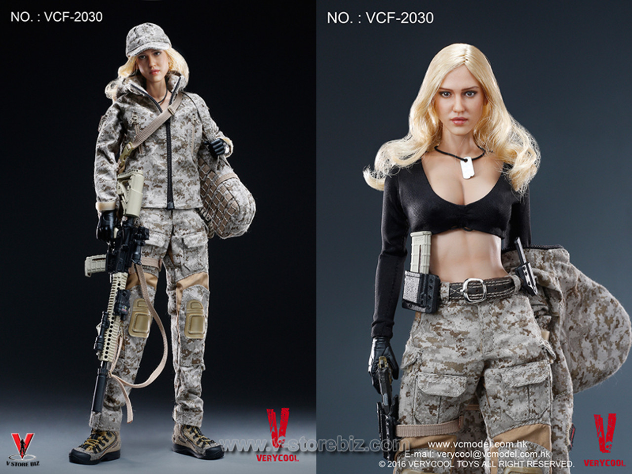 VERYCOOL Digital Camo Female Soldier Axe /& Sheath VCF-2030 loose 1//6th scale
