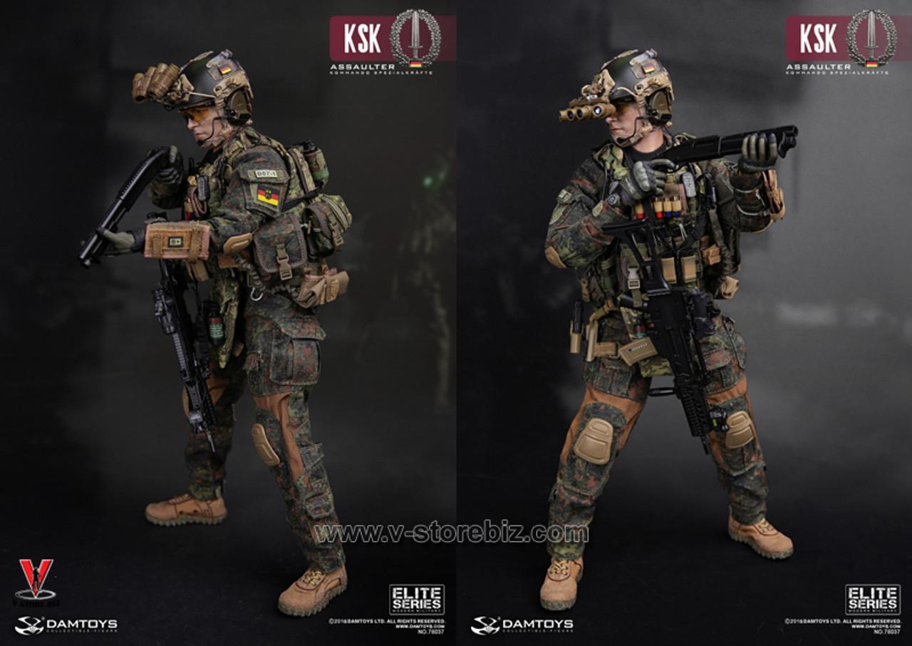 DAMTOYS German KSK Assaulter A-Frame Ballistic Helmet loose 1//6th scale