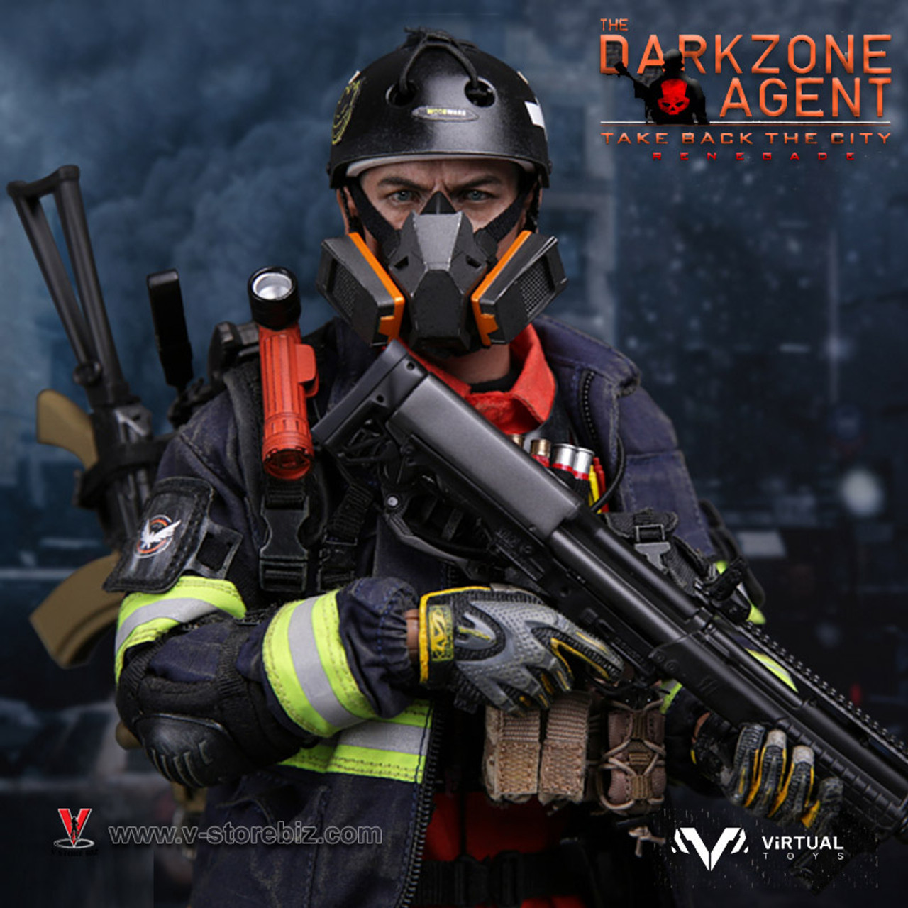 VTS Toys VM-018 1//6 The Darkzone Agent Take Back the City Renegade Action Figure