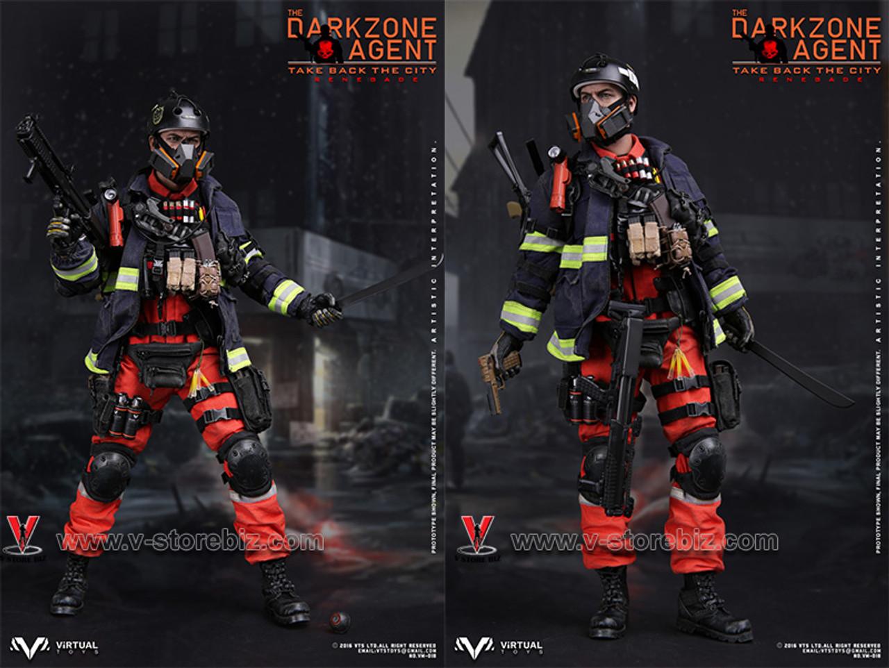 1//6 scale Virtual Toys VTS The Darkzone Agent RENEGADE Flare Gun Set VM018