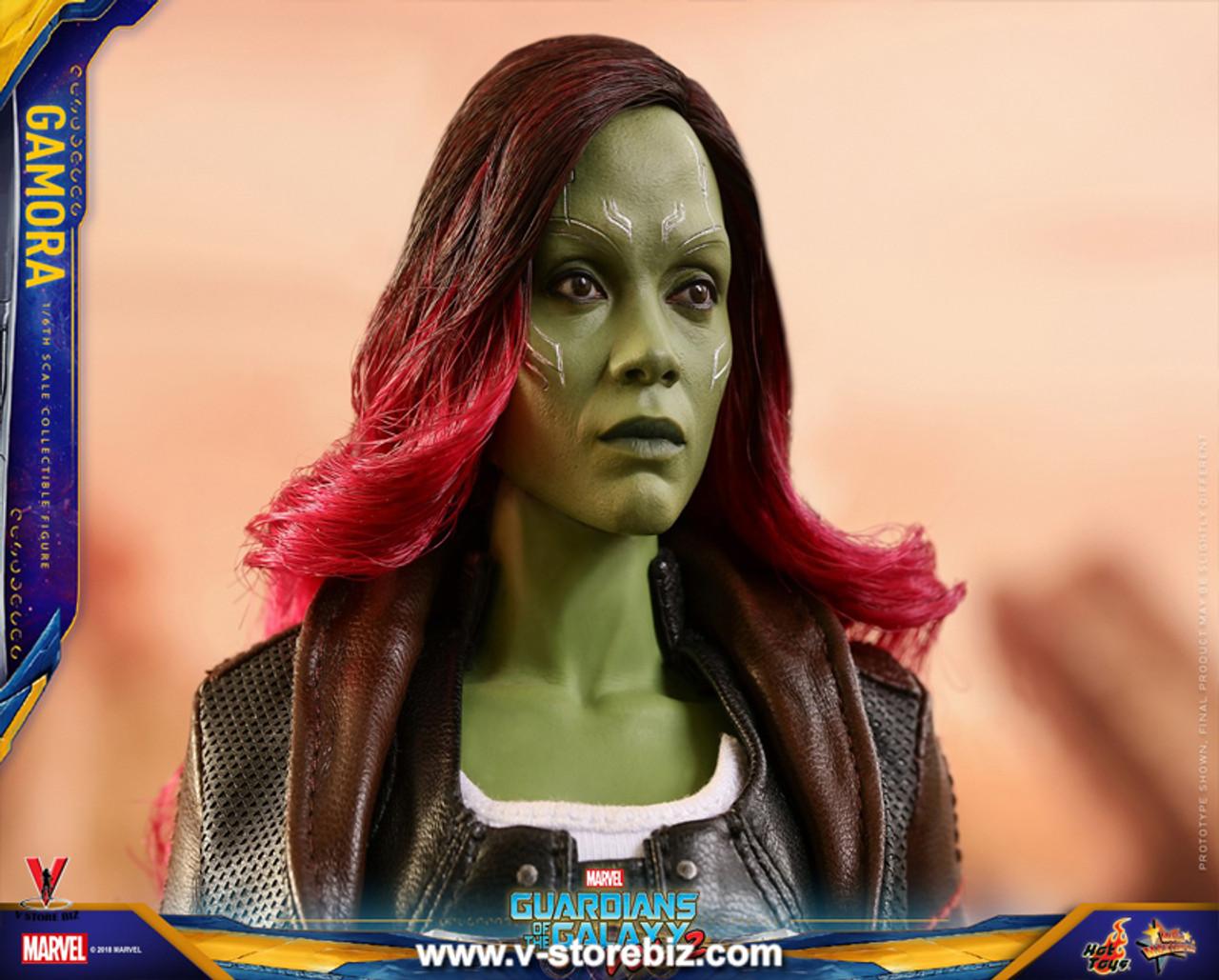 Guardians of the Galaxy Vol Gamora Hot Toys 1//6 MMS483 2