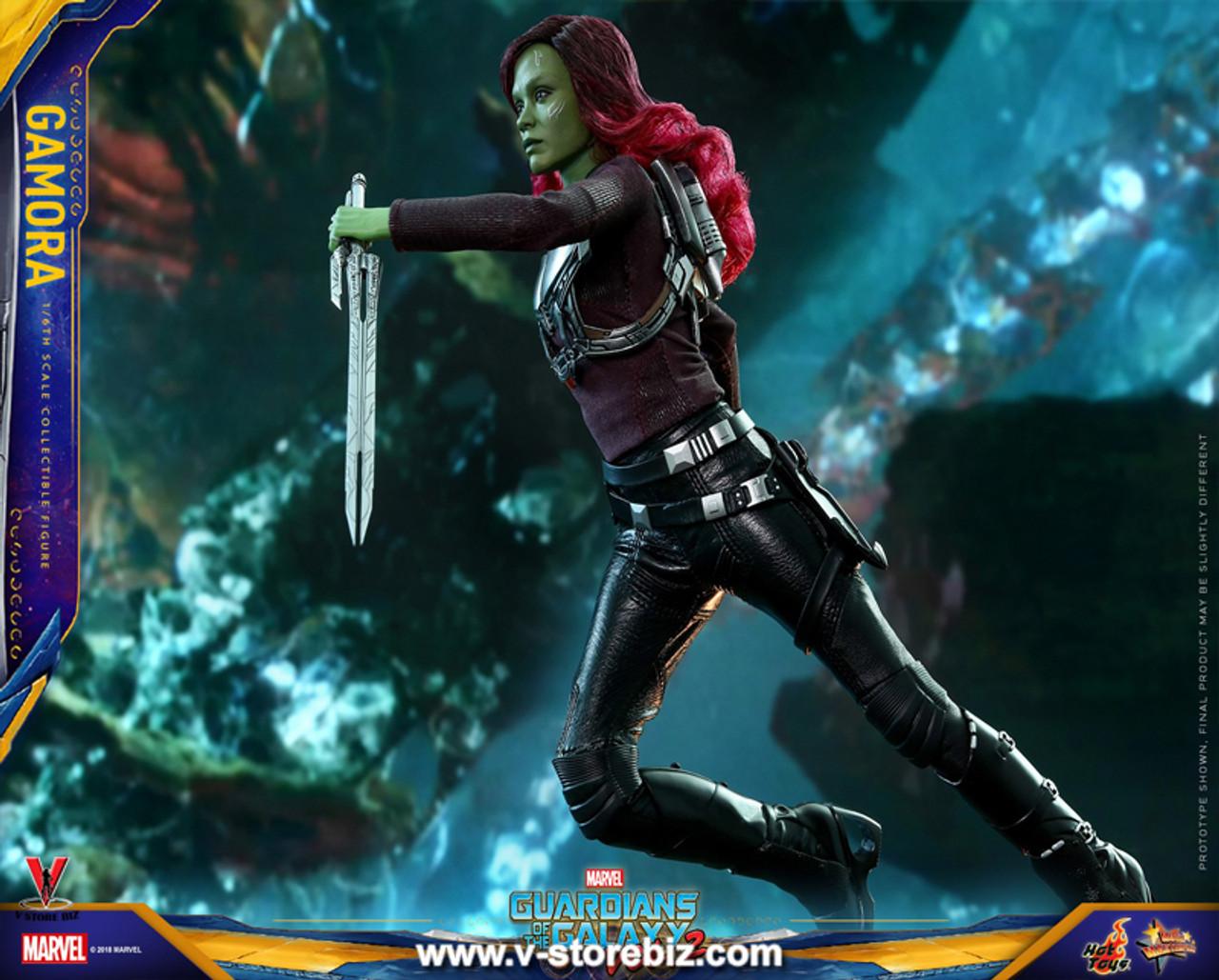 Hot Toys 1//6 MMS483 Gamora 2 Guardians of the Galaxy Vol