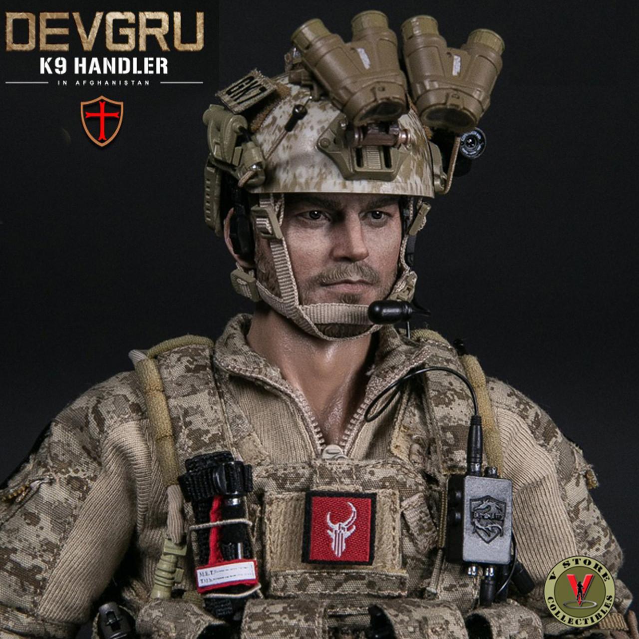 1//6 Scale DAMTOYS 78040 DEVGRU K9-handler in Afghanistan K9 DOG