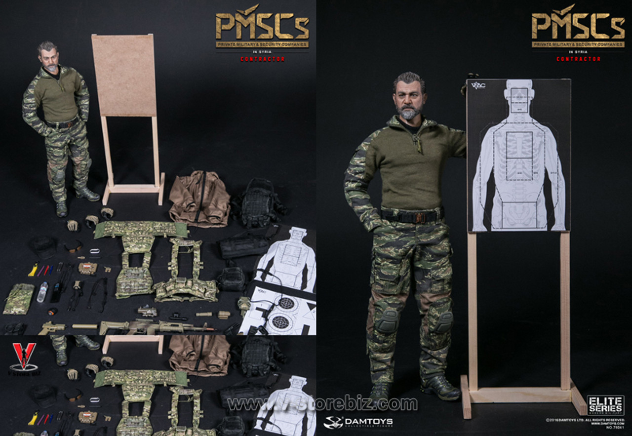 1//6 Scale Private Military /& Security Companies PMSCs Tactical Leaf Jacket Coat