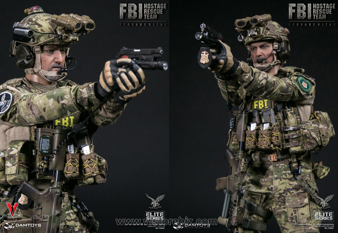 1//6 Scale-DAMTOYS Action Figures Hostage Rescue Team-Head