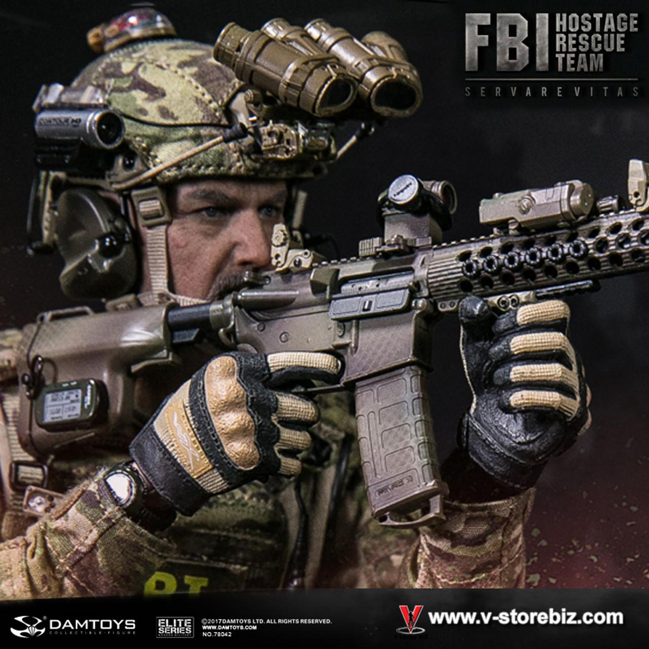 1:6 scale DAM TOYS 78042 FBI HRT AGENT Hostage Rescue Team COMBAT SHIRT