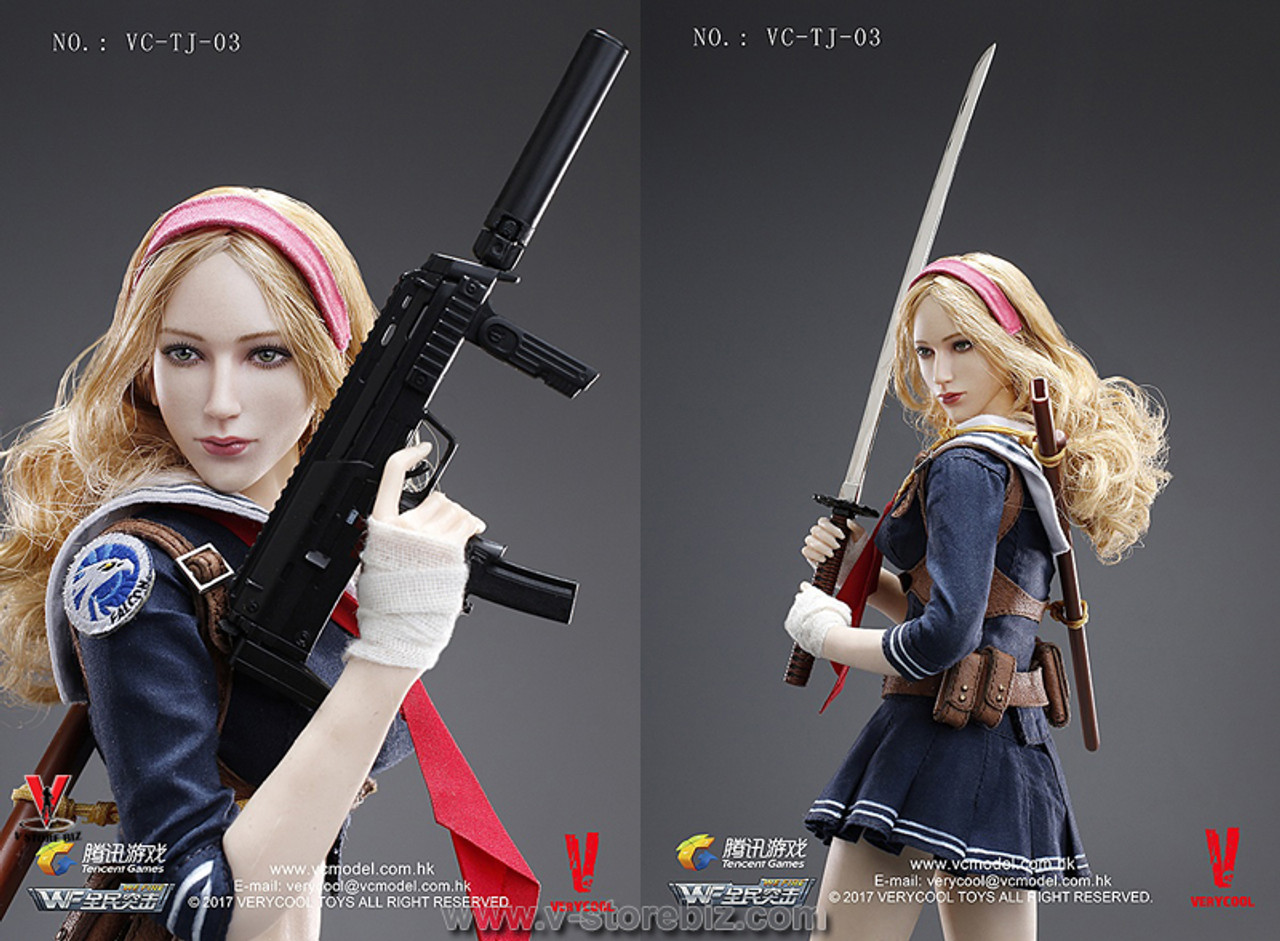 Body only Verycool 1//6 Scale VC-TJ-03 WeFire of Tencent Game Blade Girl
