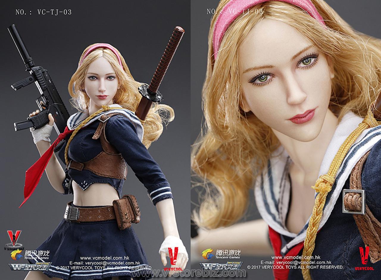VERYCOOL 1//6 Blade Girl Wefire Third Bomb Female Figure Full Set VC-TJ-03 USA