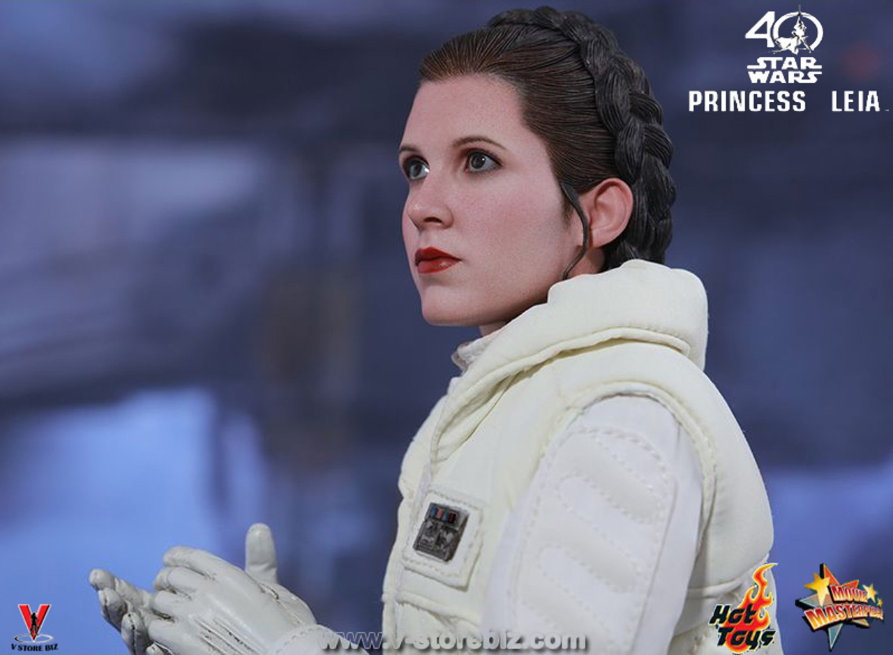 1//6 Scale Star Wars Princess Leia Off-White Female Vest